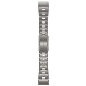 Garmin QuickFit Titanium Watch Band 26mm for Fenix 6X, grey